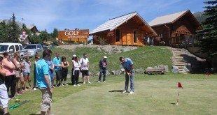 Golf Journée Porte Ouverte pour les professionnels à Montgenevre