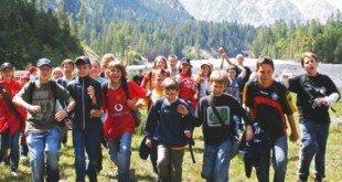 Jeunes au sommet dans les Ecrins