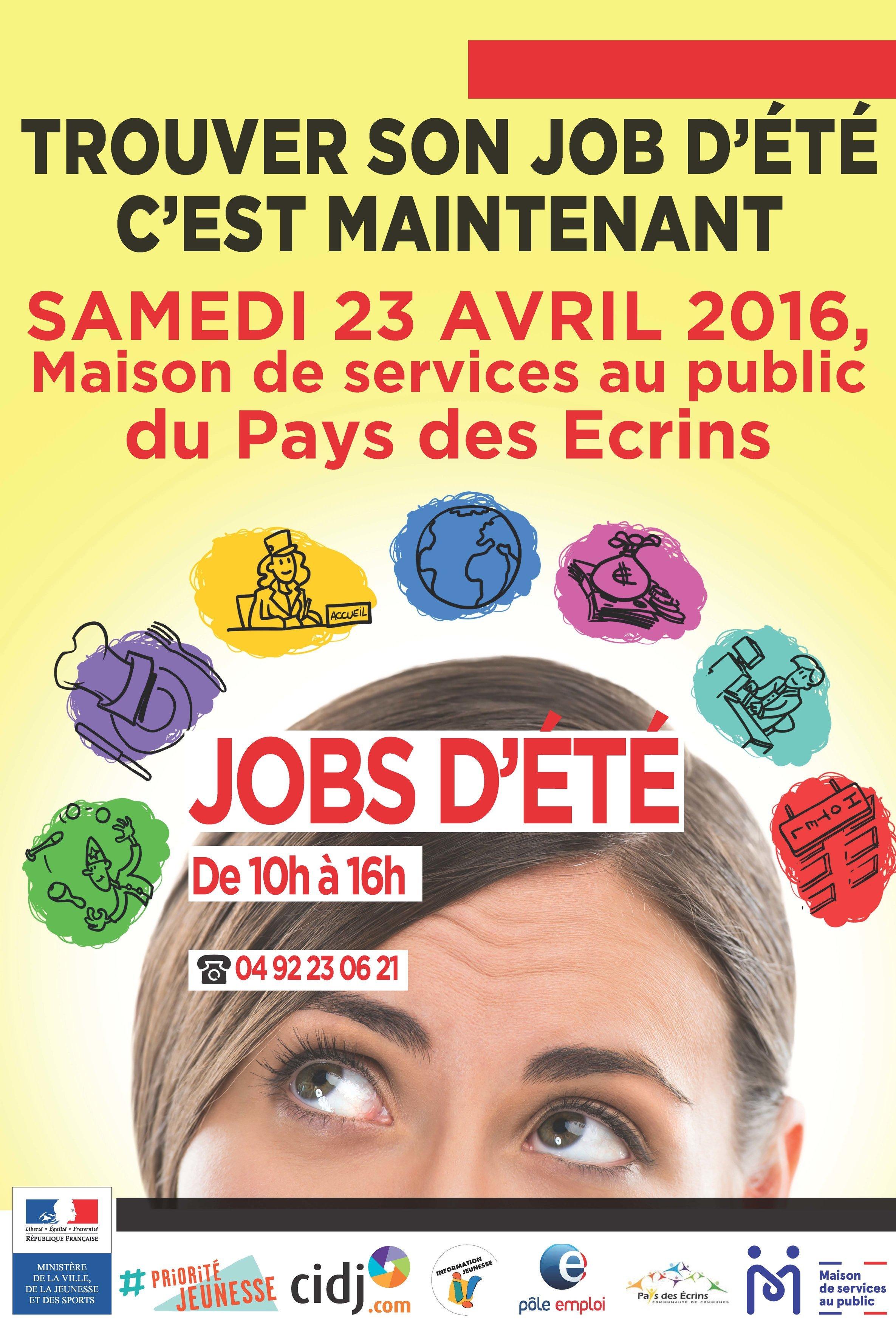 Pays des Ecrins : les journées Jobs d'Eté 2016 1