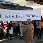 Les élus de Briançon présents au Grand Traintamarre 19