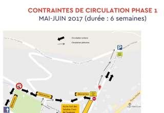 Info travaux: Chemin des Salettes 1
