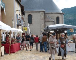 Fête médiévale : restrictions de stationnement 3
