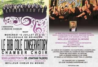 Le Bob Cole Conservatory en concert mercredi 12 ! 1