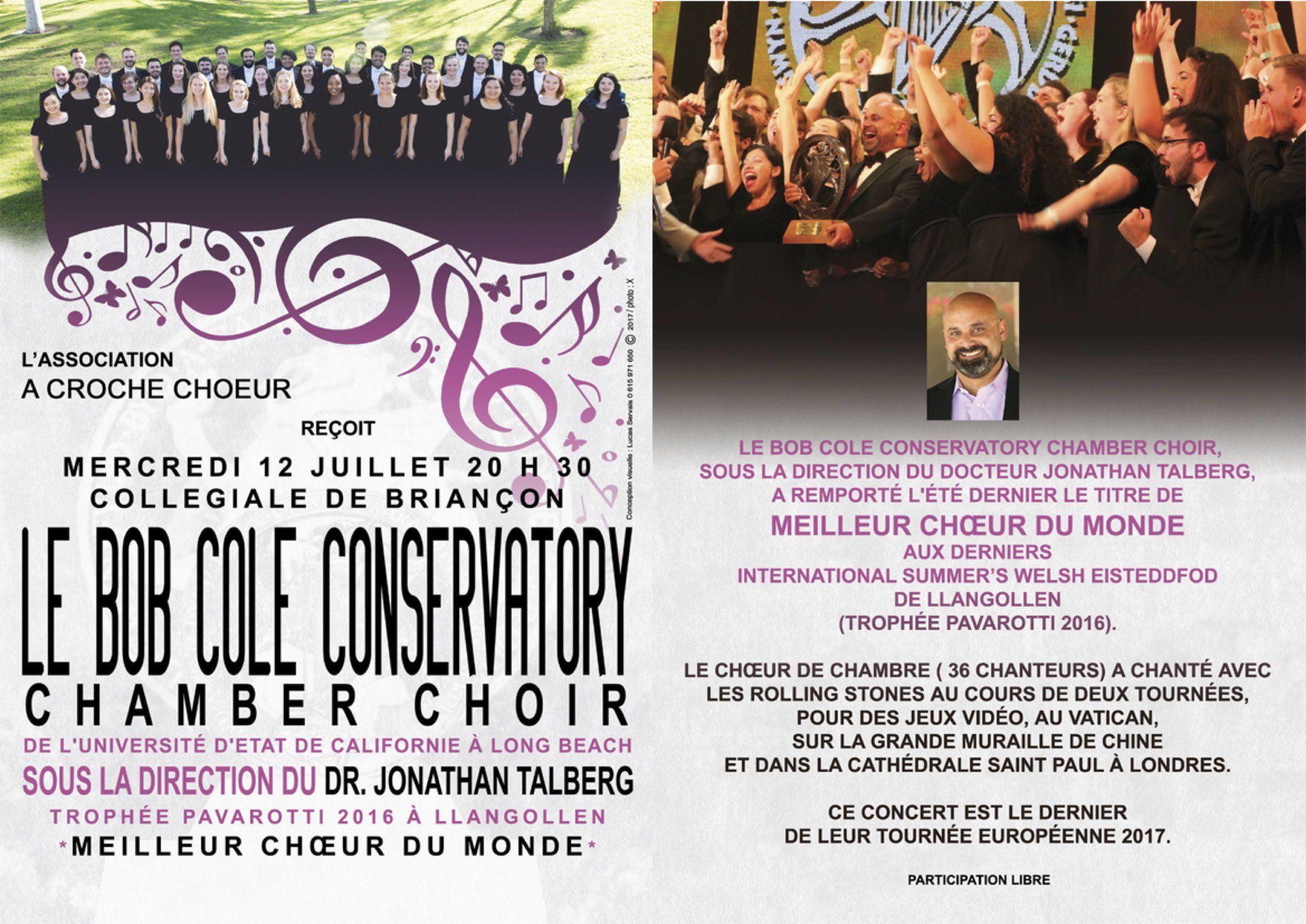 Le Bob Cole Conservatory en concert mercredi 12 ! 7
