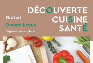 Ateliers de découverte cuisine santé : dernier rendez-vous 2017 le mercredi 18 octobre 1