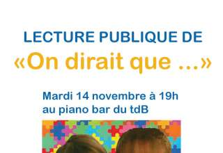 "Invitation à la lecture publique de "" On dirait que ..."" 3"