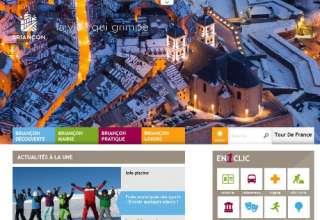 Site web de la Ville de Briançon 1
