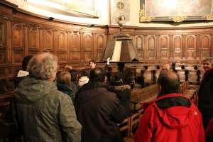 Collégiale de Briançon, lancement de deux aides à la visite 10