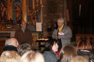 Collégiale de Briançon, lancement de deux aides à la visite 12