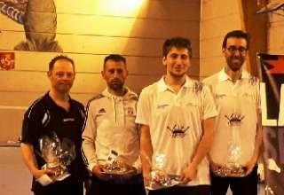 Briancon au Badminton Open Sisteronnais 2