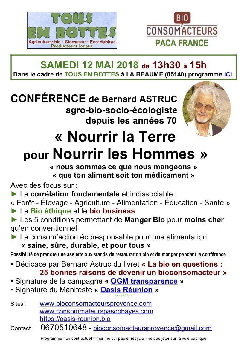 Samedi 12 mai 2018 TOUS EN BOTTES :conférence de Bernard Astruc 7