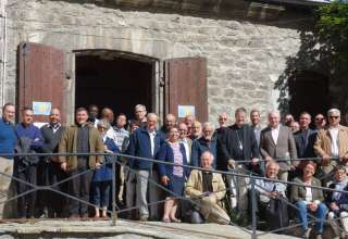 Les prêtres et diacres du Diocèse à Briançon 4