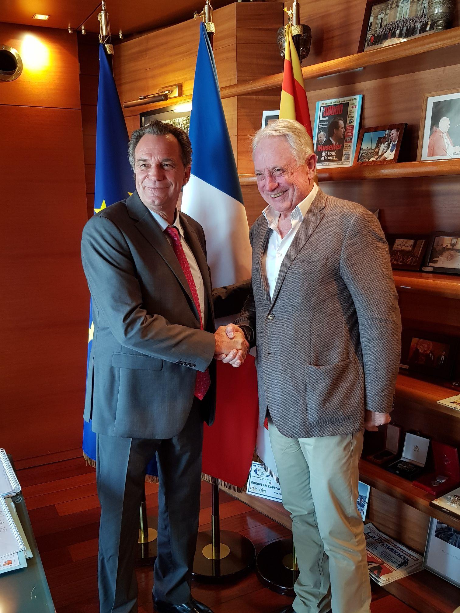 Echanges constructifs entre Gérard FROMM et Renaud MUSELIER 1
