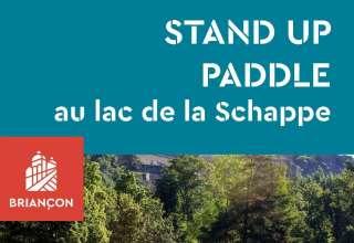 Inédit : du Stand Up Paddle au lac de la Schappe 1
