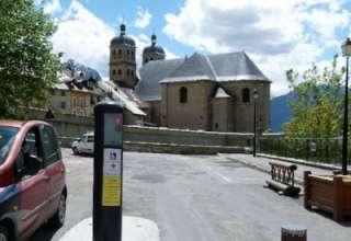 Info borne d'accès à la Cité Vauban 1