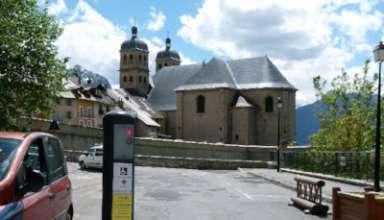 Info borne d'accès à la Cité Vauban 3