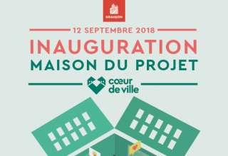 Coeur de Ville : inauguration de la Maison du Projet 1