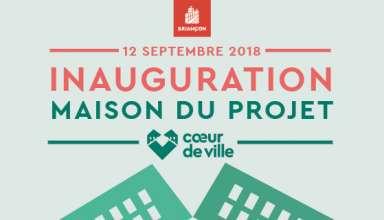 Coeur de Ville : inauguration de la Maison du Projet 5