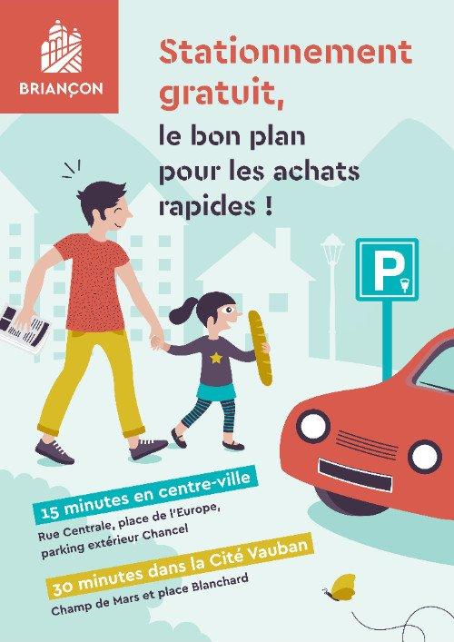 Stationnement : 15 ou 30 minutes gratuites, le bon plan pour les achats rapides ! 1