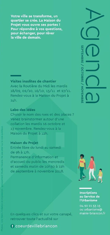 MAISON DU PROJET COEUR DE VILLE : 1ère permanence demain de 10h30 à 12h ! 3