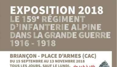 Exposition le 159 RIA dans la Grande-Guerre : nouveaux horaires 8