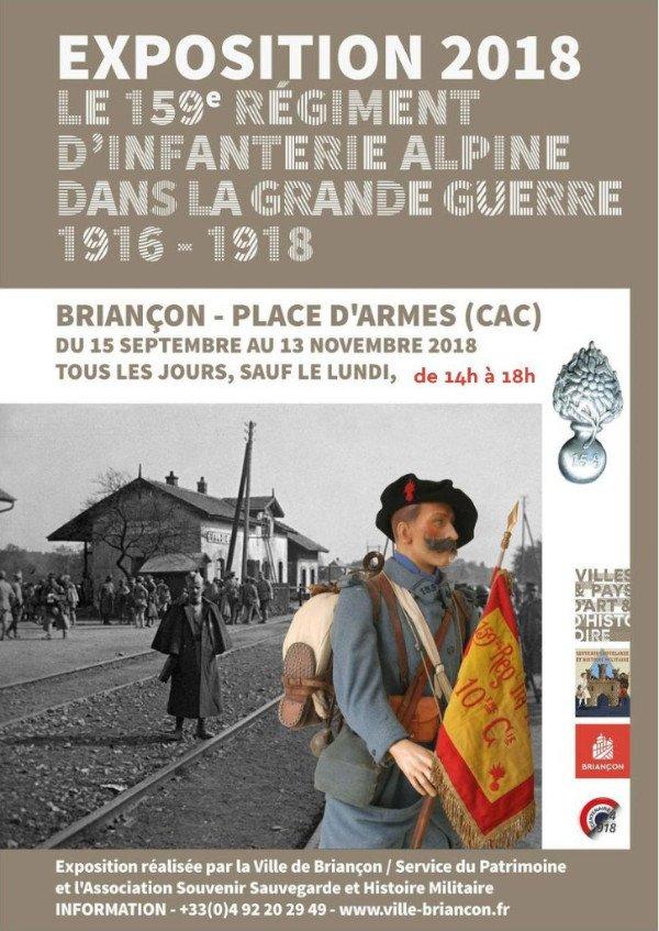 Exposition le 159 RIA dans la Grande-Guerre : nouveaux horaires 4