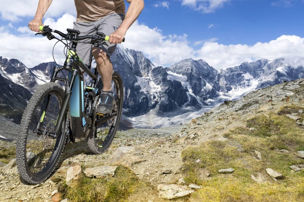 Faire du VTT en montagne à Briançon 18