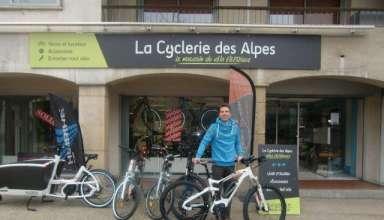 La Cyclerie des Alpes propose l'achat en ligne et la livraison à domicile de vélos électriques pour femmes et hommes. 1