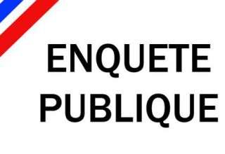 Avis d'enquête publique : Aménagement de la Grande Boucle 1