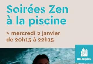 Soirée zen à la piscine 1