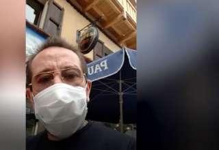 Drôles de vies : Thierry Gasquet, le patron emblématique du restaurant l'Endroit à la Salle les Alpes, s'occupe... en cuisinant, et nous enjoint d'être très prudent - www.dici.fr 5