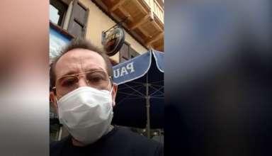 Drôles de vies : Thierry Gasquet, le patron emblématique du restaurant l'Endroit à la Salle les Alpes, s'occupe... en cuisinant, et nous enjoint d'être très prudent - www.dici.fr 2
