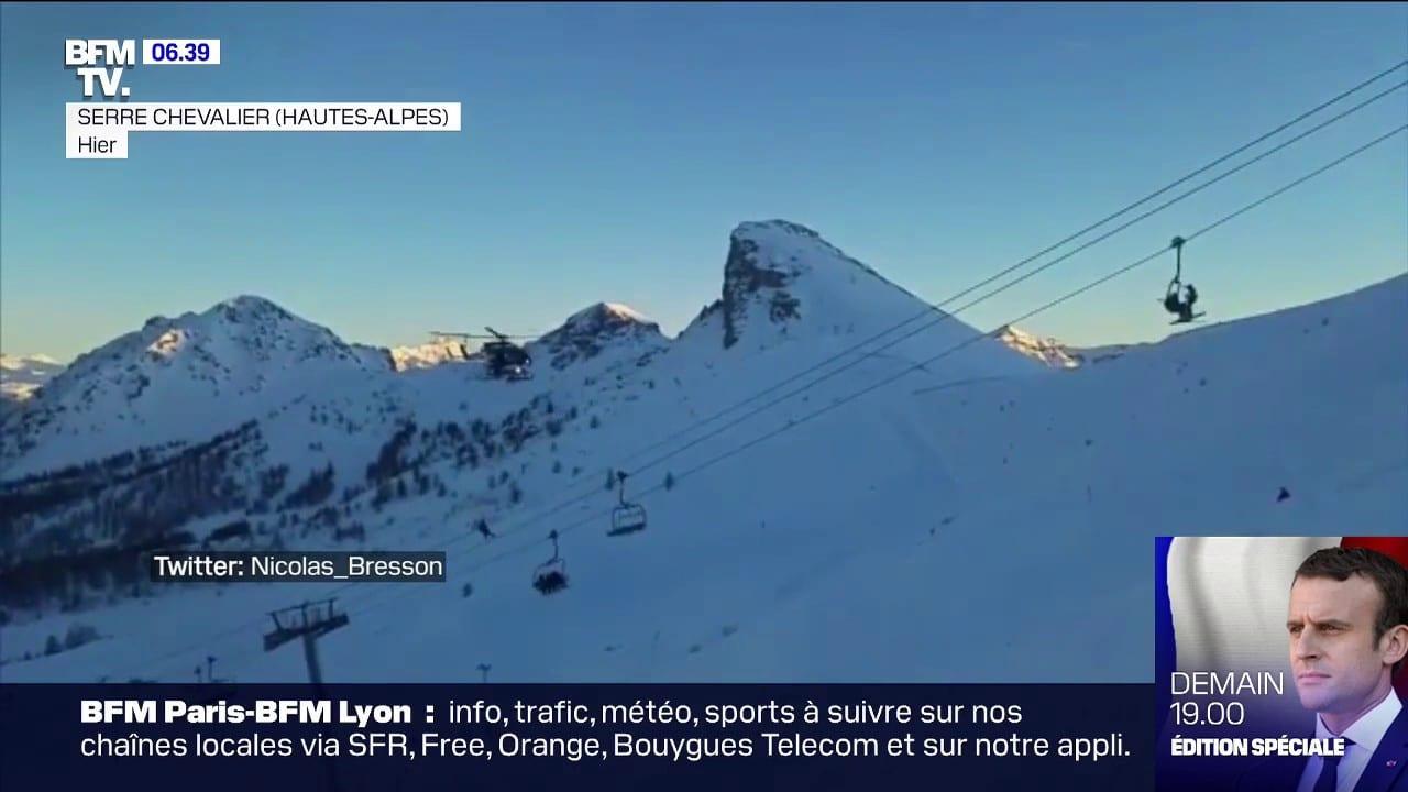 À Serre Chevalier, une centaine de skieurs ont été évacués d'un télésiège en panne - www.bfmtv.com 1
