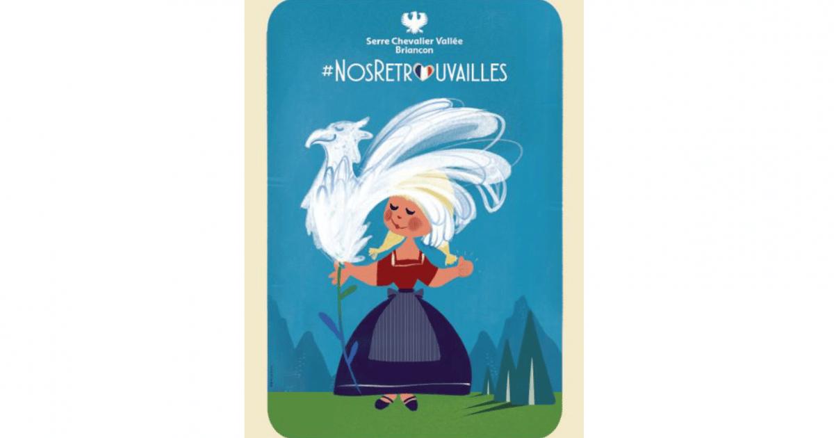 Serre Chevalier : un kit de communication #NosRetrouvailles à récupérer en drive - www.dici.fr 1
