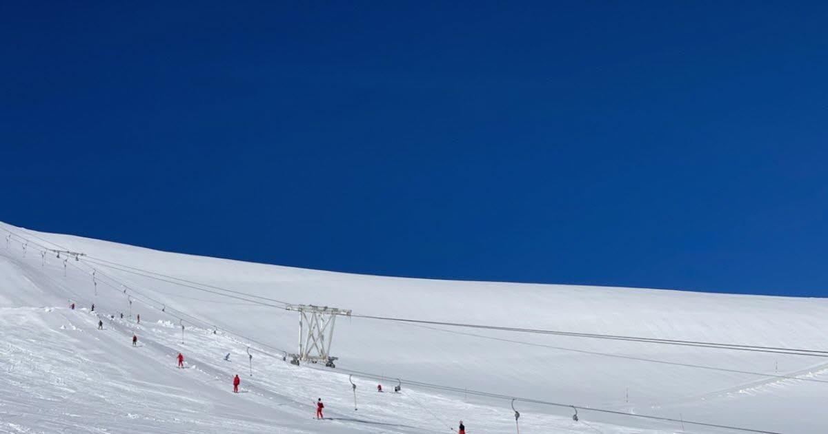 Premiers virages à La Grave pour les clubs et les testeurs de Ski Chrono - www.ledauphine.com 8