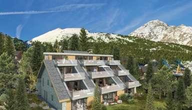 PROGRAMME D APPARTEMENTS NEUFS A VENDRE - MONTGENEVRE VILLAGE : Immobilier MONTGENEVRE | Agences immobilires Brianon, Embrun, Montgenvre, Serre Chevalier - www.bafimmo.com 5