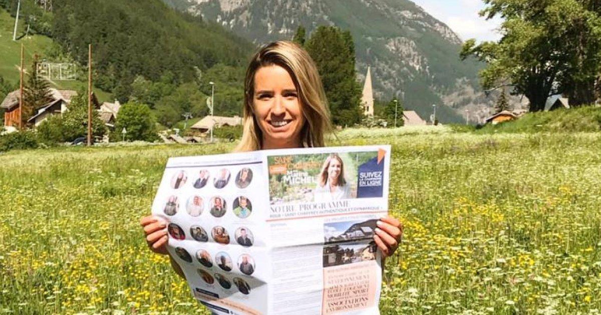 Hautes-Alpes : Marine Michel candidate au second tour de St Chaffrey - www.dici.fr 13