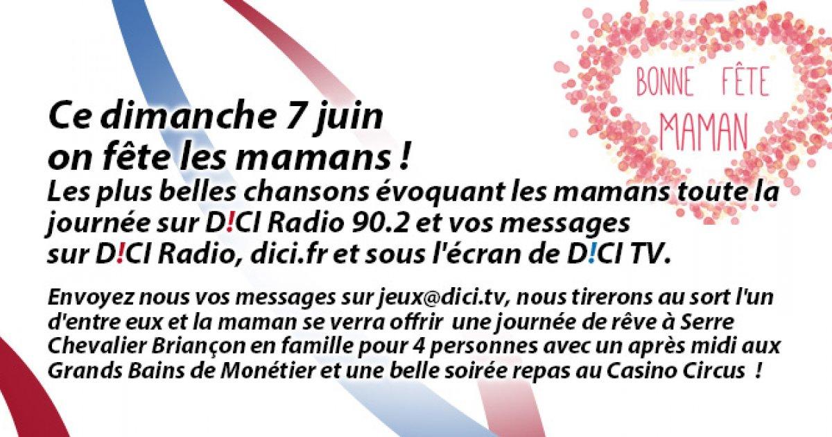Alpes du Sud : Voici les premiers messages reçus pour la fête des mères ! - www.dici.fr 10