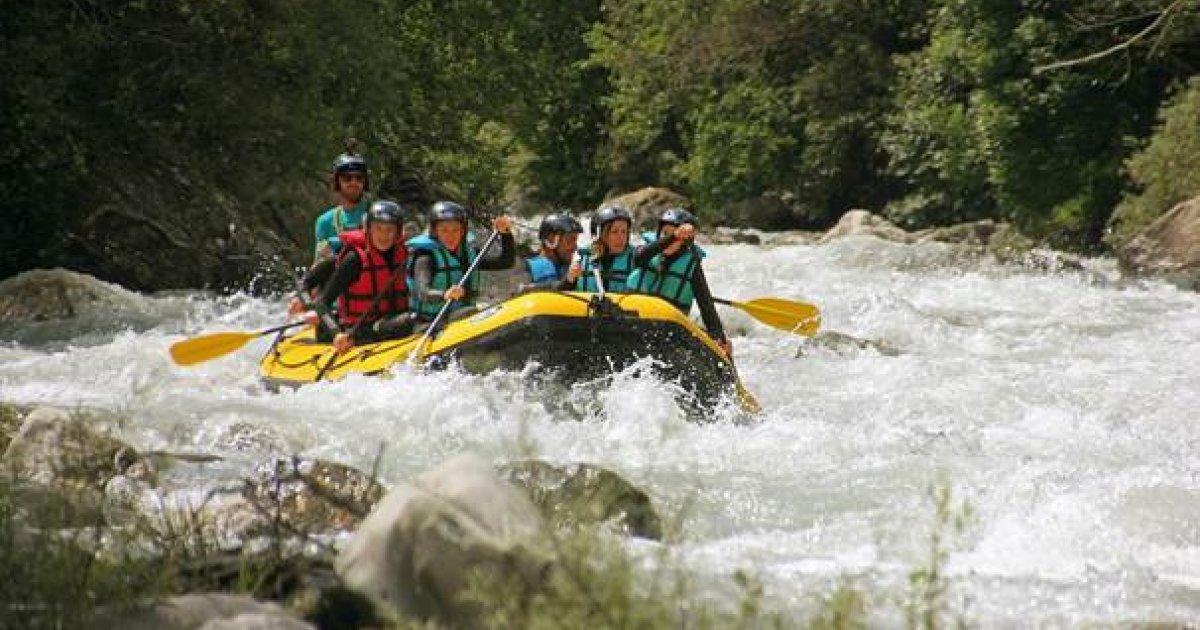 Hautes-Alpes : reprise des activité d'eaux vives à Serre Chevalier, et nouveauté pour cet été : descente du col du Galibier à Briançon en rafting et VTT ! - www.dici.fr 5