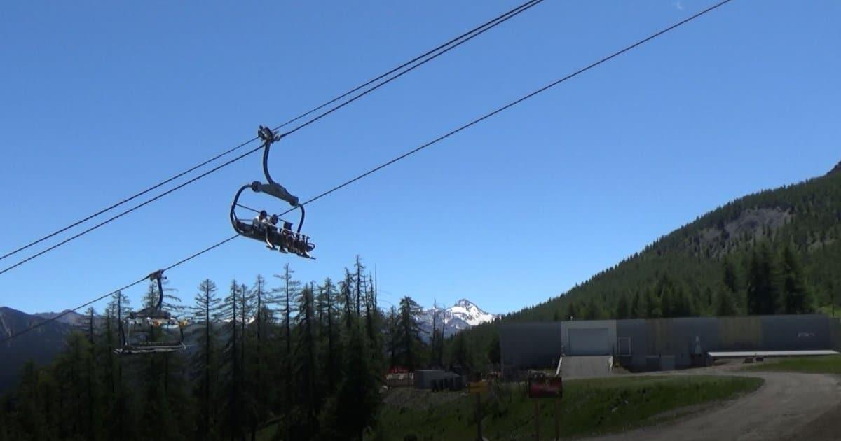 Hautes-Alpes : Un vrai jour d'été pour la réouverture du domaine skiable de Serre Chevalier à Chantemerle ce samedi - www.dici.fr 9