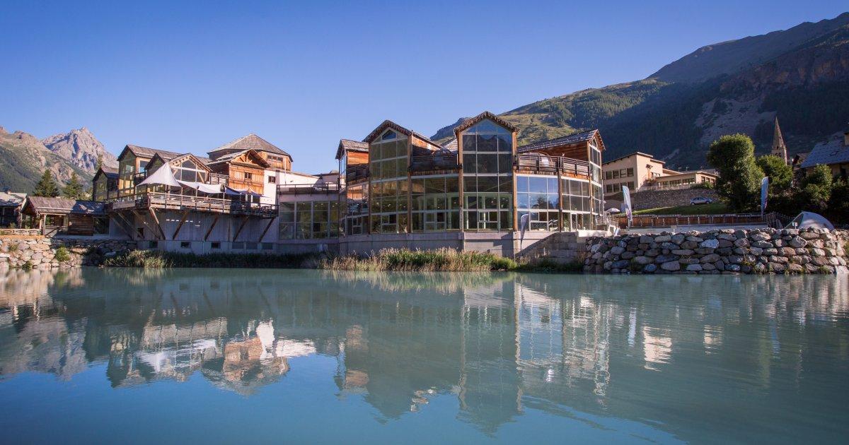 Hautes-Alpes : les Grands Bains du Monêtier ouvrent le 10 juillet - www.dici.fr 1