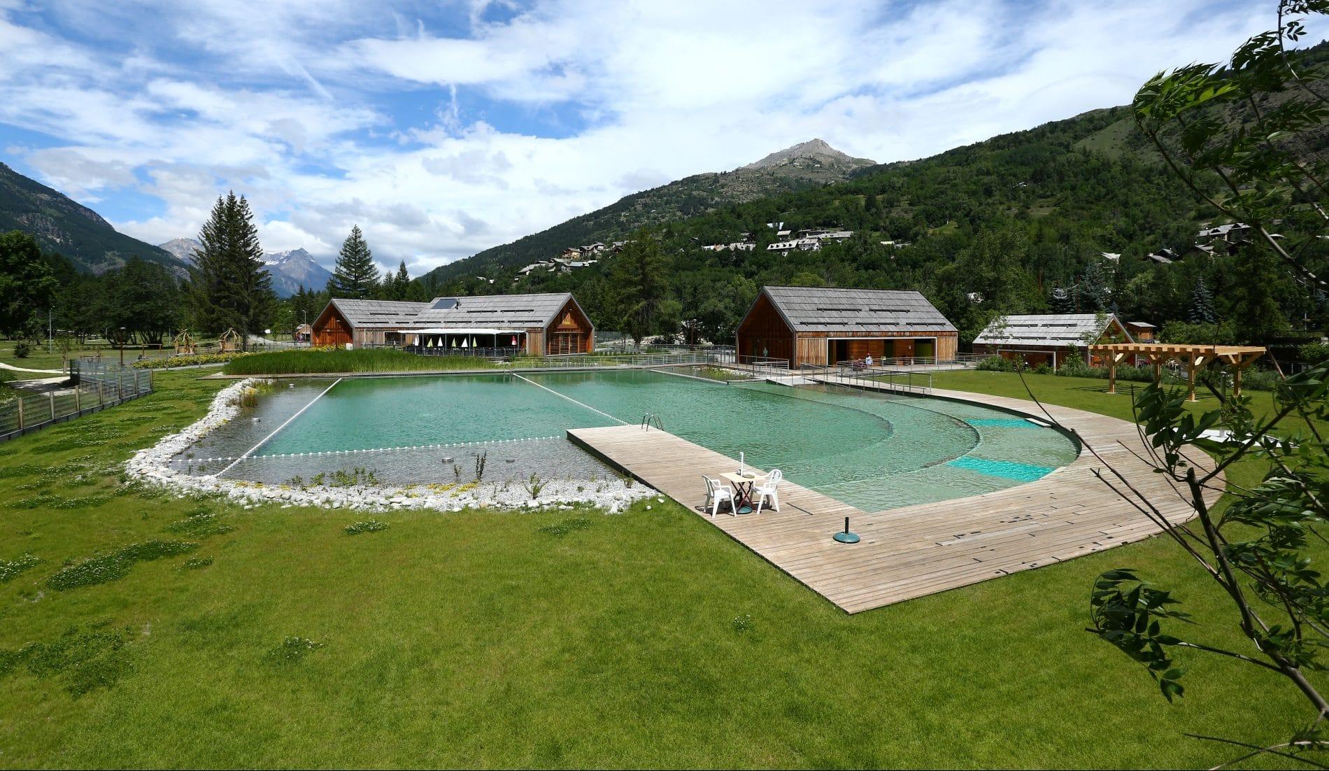 Ouverture de l'un des deux bassins verts de Serre-Chevalier - www.actumontagne.com 1