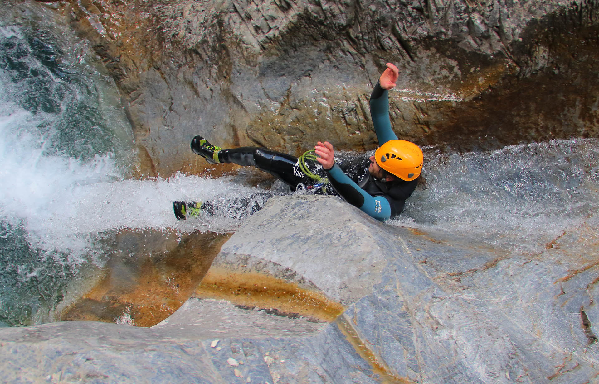 Canyoning à Briançon Serre Chevalier ,les 4 plus beaux parcours canyoning , Rafting, Via Ferrata - serre-chevalier-sensation.com 1