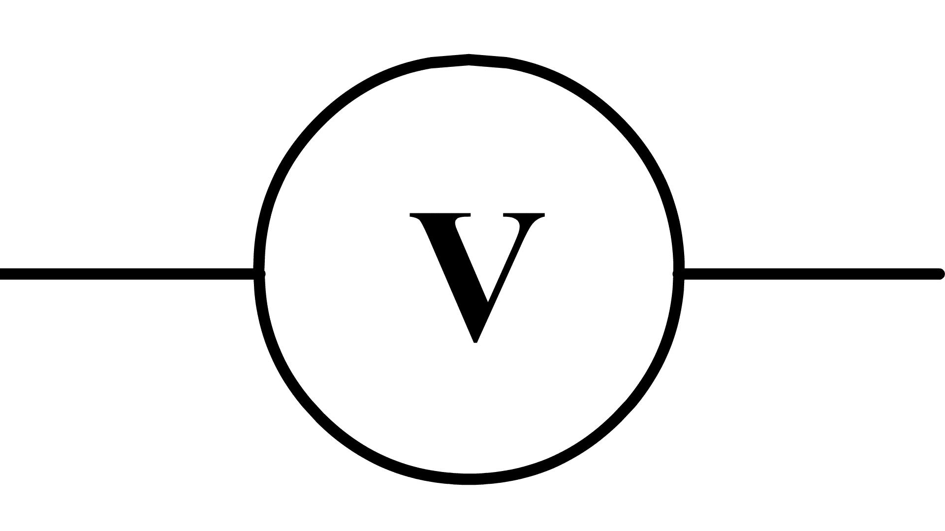 Quel est le principe du voltmètre?
