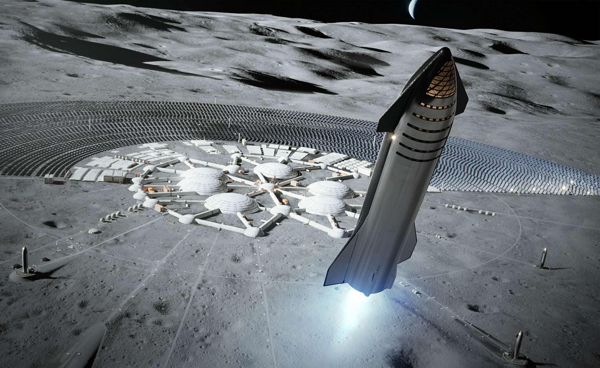 SpaceX peut nécessiter jusqu'à huit versions pour atteindre la Lune 1